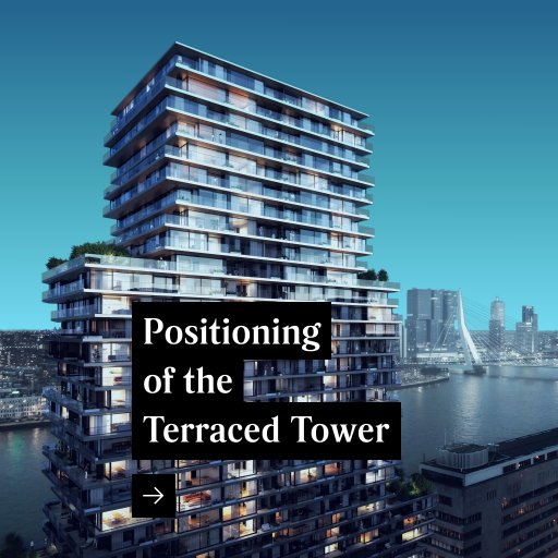 Positioning of The Terraced Tower