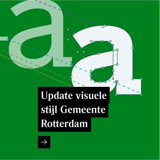 Update visuele stijl Gemeente Rotterdam