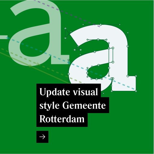 Update visual style Gemeente Rotterdam