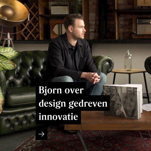 Bjorn over design gedreven innovatie