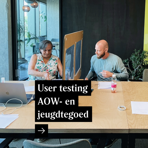 User testing AOW- en jeugdtegoed