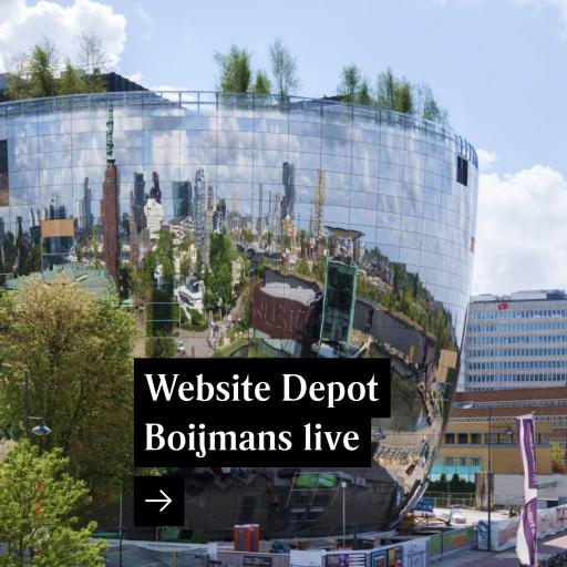 Website Depot Boijmans Van Beuningen