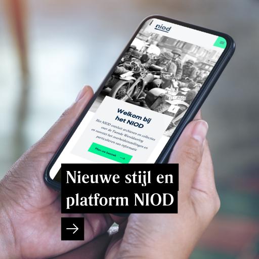 Nieuwe visuele stijl en platform NIOD